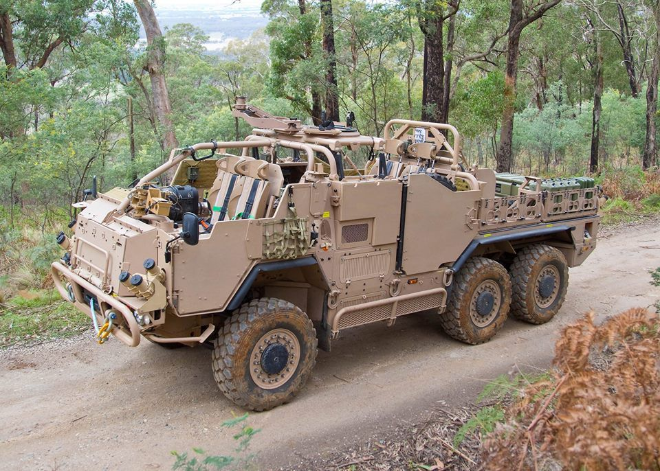 The Pinzgauer as issued to the Australian Army, (this Special Operations model has yet to be painted in the Australian colour scheme).