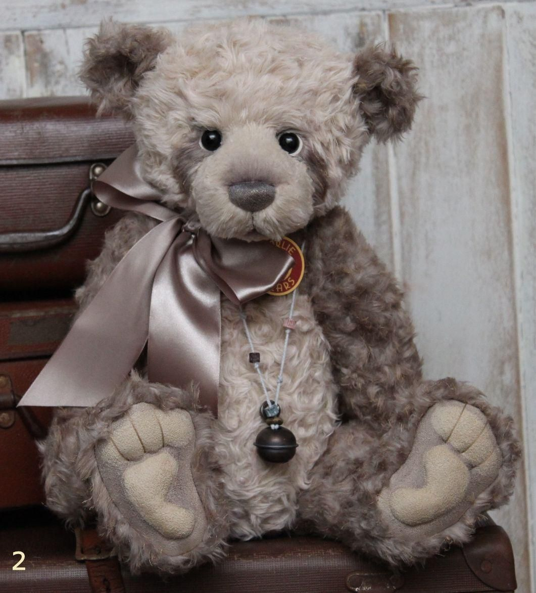 Charlie Bear Paris Teddy Bear Cottage - Collectable Charlie Bears