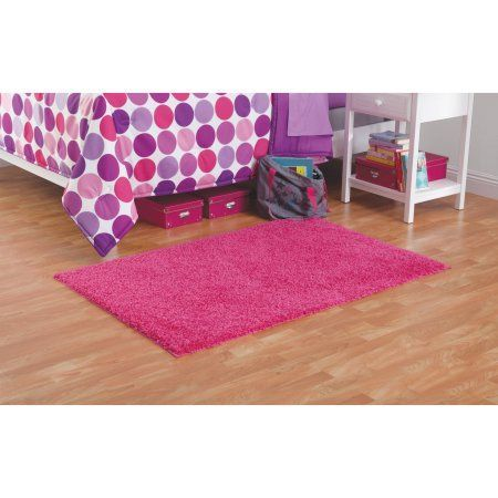 Your Zone Solid Shag Rug Available In Multiple Sizes and Colors ...