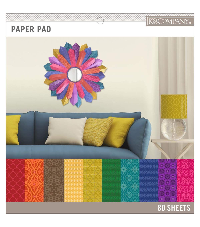 K&Company Basics Paper Pad Darks 12''x12''