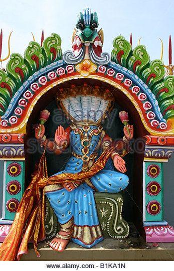 Statue of Nagini - The Hindu snake goddess , Tamil Nadu