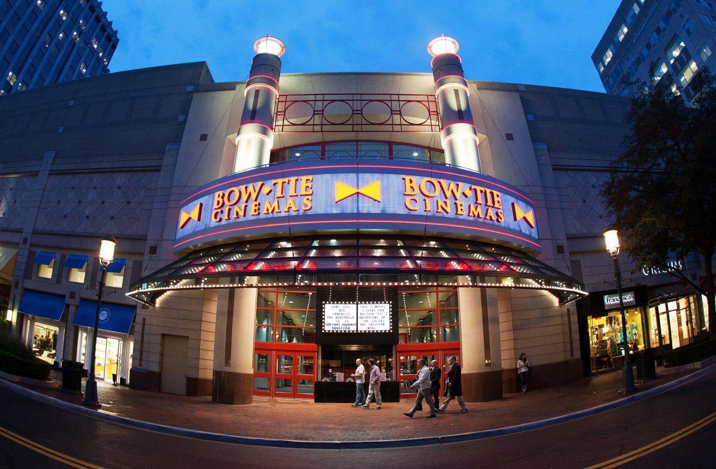 Bowtie cinemas movie theater at reston town center by