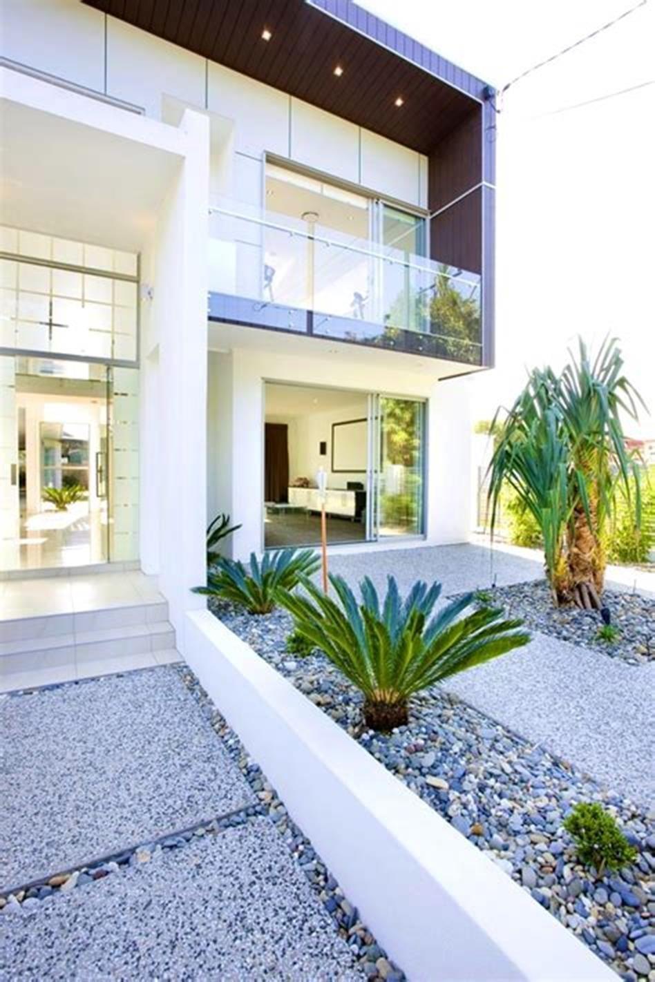 50 Best Mid Century Modern Landscaping Ideas Modern Front Yard Mid Century Modern Landscaping Modern Landscaping