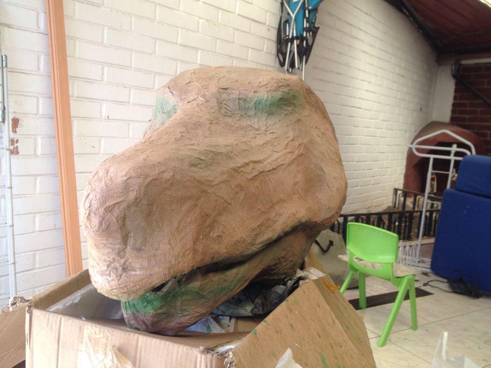 T Rex pintado