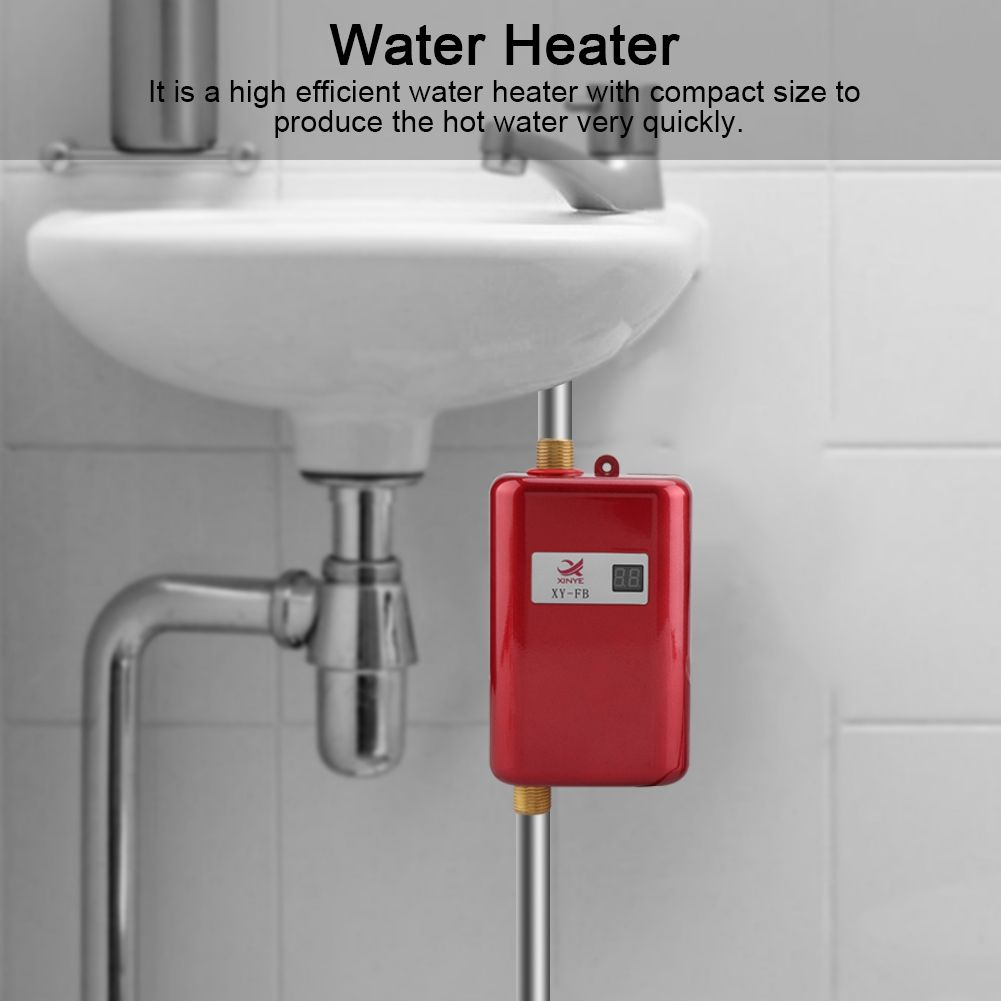 Ejoyous 110v 3000w Mini Electric Tankless Instant Hot Water Heater Bathroom Kitchen Washing Us Tankless Water Heater Instant Water Heater Walmart Com In 2020 Instant Water Heater Tankless Water Heater Water Heater