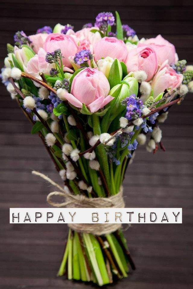 Happy Birthday Beautiful Flowers Birthday Flowers