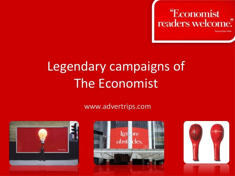 wellwritten and red the continuing story of the economist poster campaign