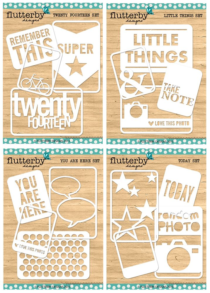 Flutterby Designs - 'Fussy Cuts' come as phsyical cut product or digital cut file. http://flutterbydesigns.bigcartel.com/  #fussycuts #perfectforprojectlife #flutterbydesigns