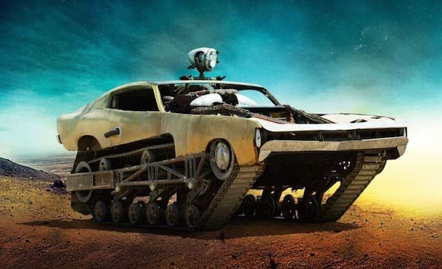 The Cars of Mad Max: Fury Road concept art - Peacemaker by Colin Gibson *
