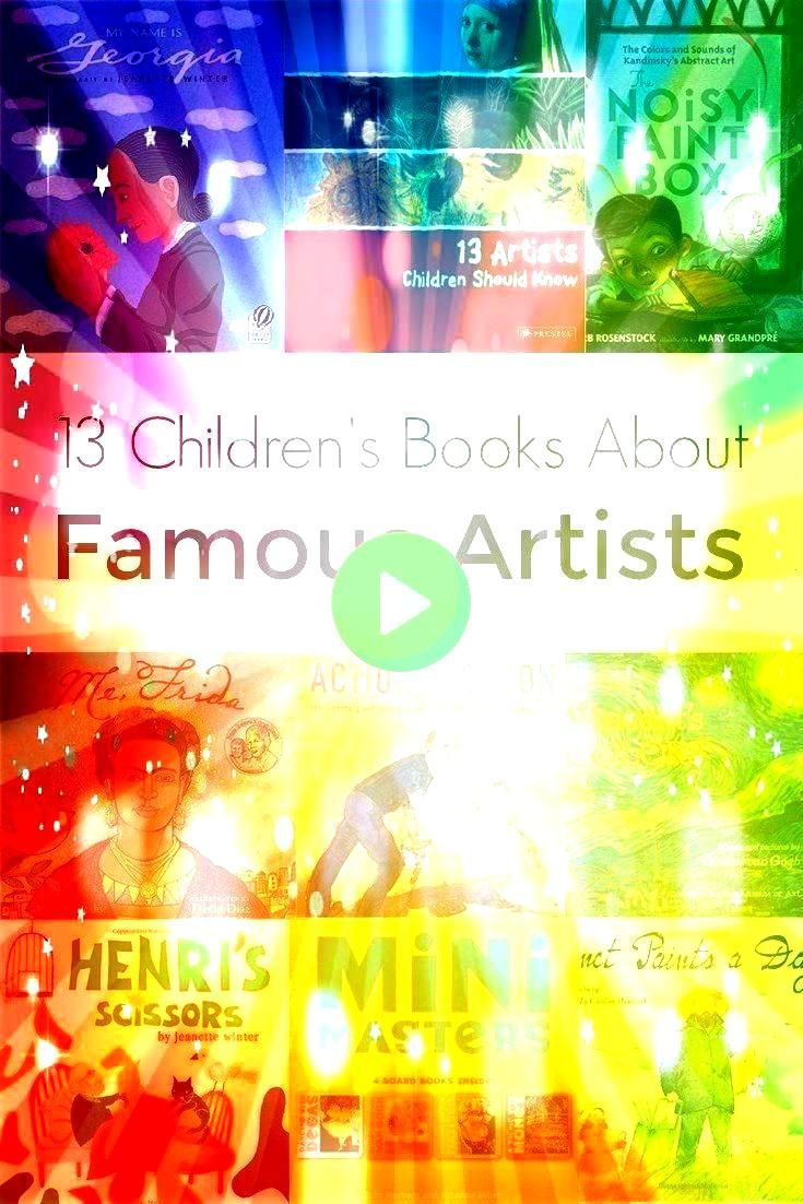 About Famous Artists Stories about famous artists are full of great lessons for kids such as courage perseverance determination and not being afraid to let our light shin...