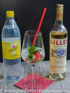 Sommerlich fruchtiger Cocktail: Lillet Vive #boissonsfraîches