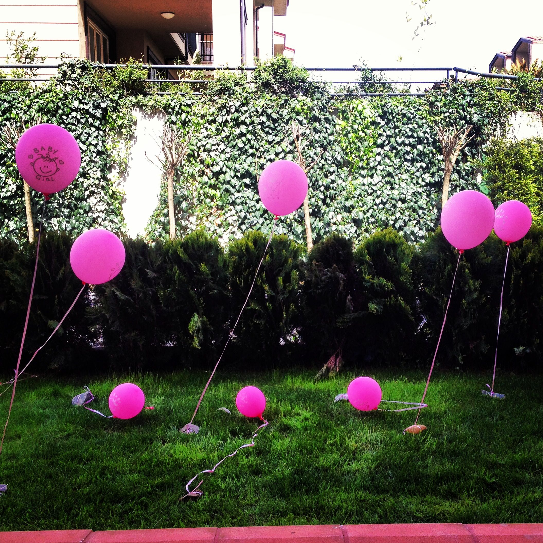 Baby shower baloons