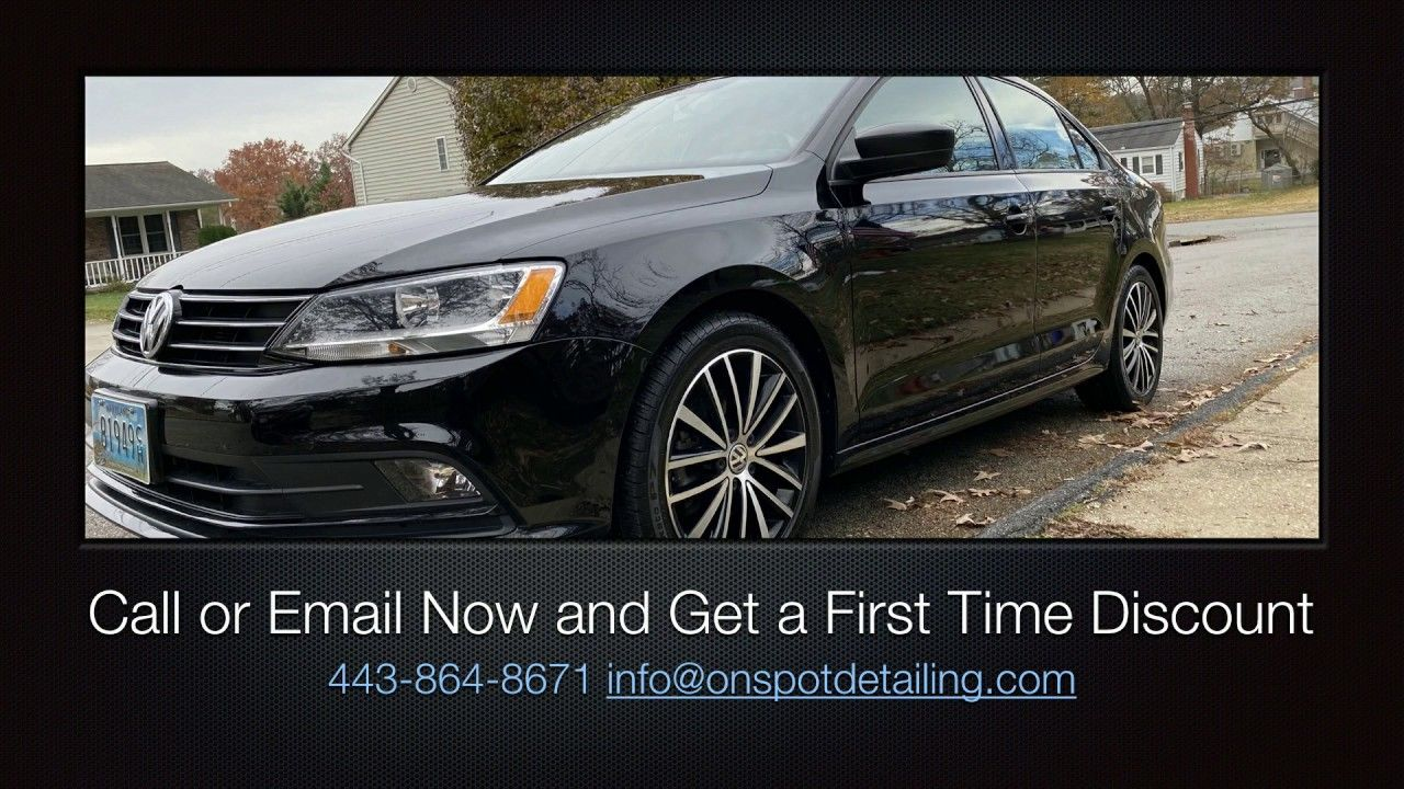 Auto Detailing Near Me On The Spot Car detailing