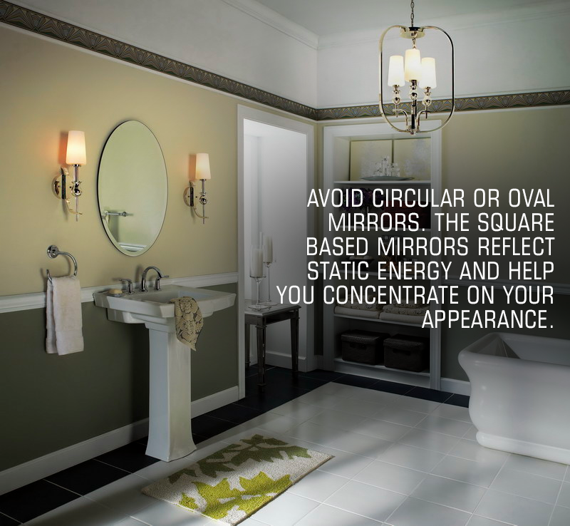 Vastu Tip Of The Day Having A Mirror In The House Is Important But Having The One With The Right Shape Is Even More Importa Home Vastu House Home Renovation