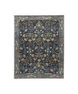 New Aunthentic 8 X10 Adline Blue Woolen Area Handmade Rugs