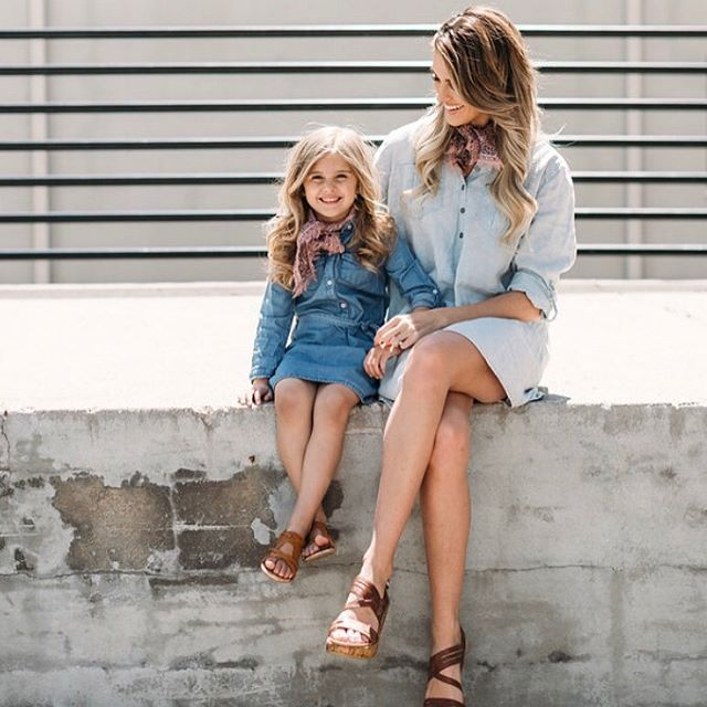 mckinliWhen did my baby girl get so big?? I was looking at some old blog pictures yesterday and she was so little when we first started our mommy & me outfits  @bbstyledboutique • • • • • • • #mini #minime #mommyandmefashion #mommyandme #momblogger #mom