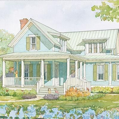 Top 12 Best Selling House Plans Southern House Plans Southern Living House Plans Cottage Plan