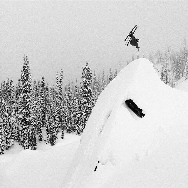 #skiing #backcountry #freeskier