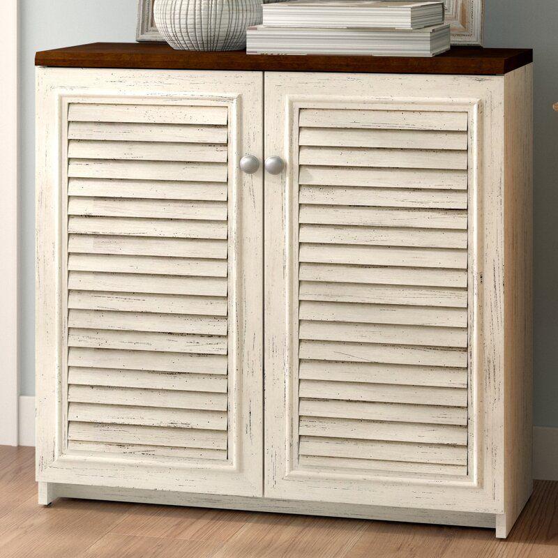 Beachcrest Home Oakridge 2 Door Storage & Reviews
