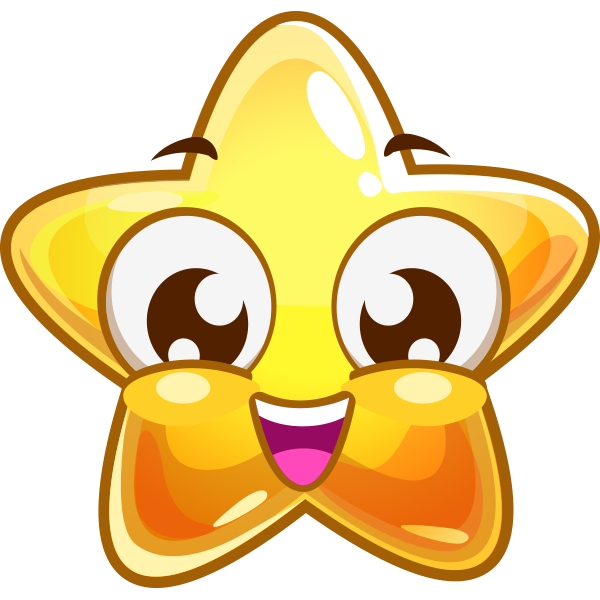 Grinning Star Facebook Symbols Miscellaneous Cool Star Emoticon