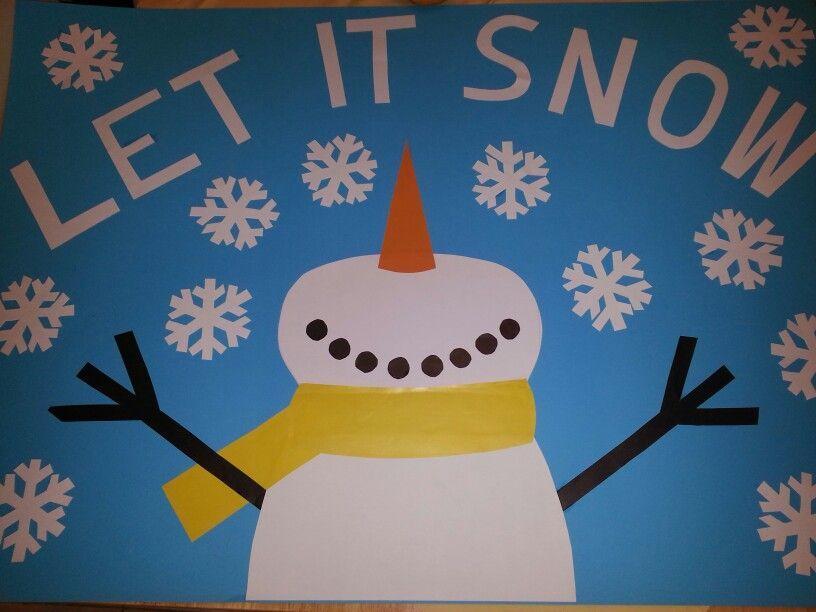 Classroom Bulletin Board Ideas For January : Winter bulletin board wonderland pinterest