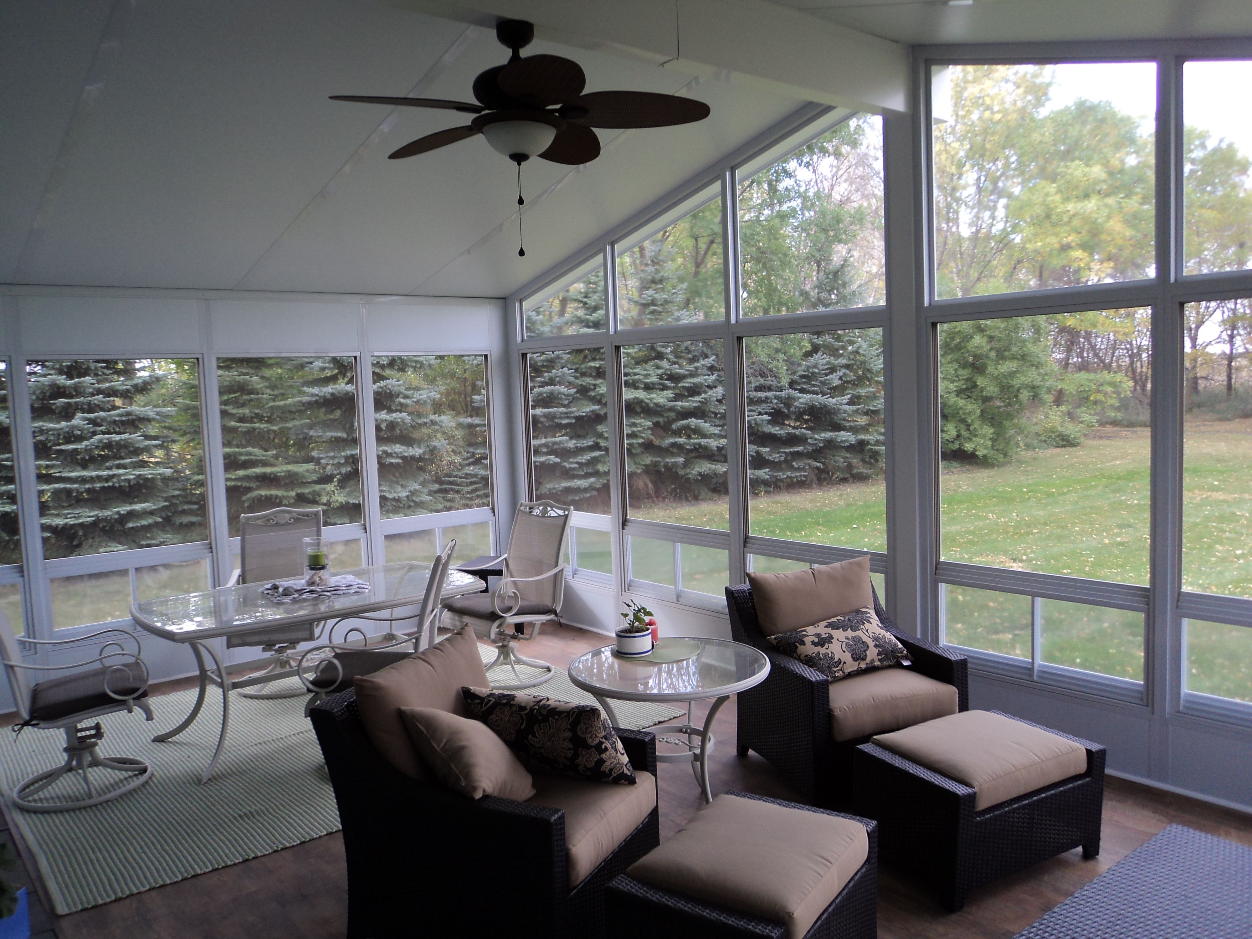 WeatherMaster Vertical 4 Track Sunroom Open Concept Has A New Meaning