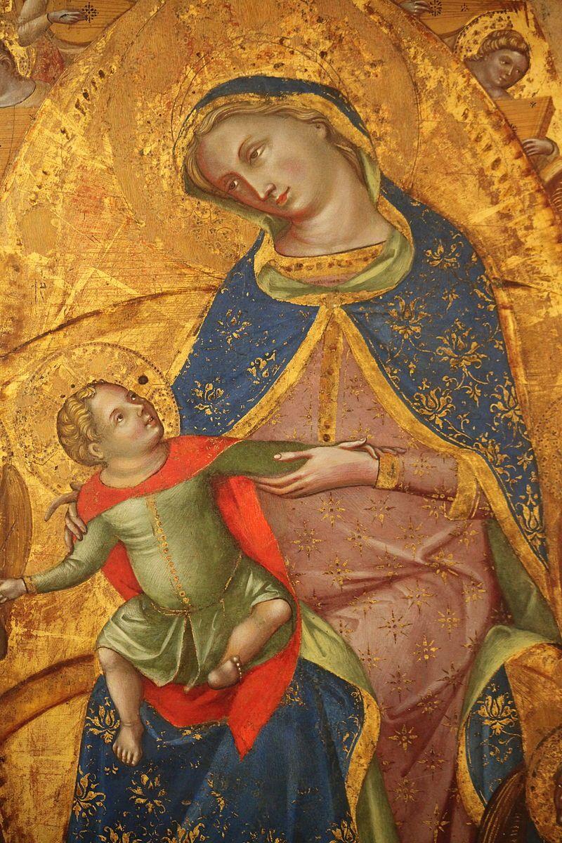 Dettaglio del Matrimonio mistico di Santa Caterina di Lorenzo Veneziano (1).JPG
