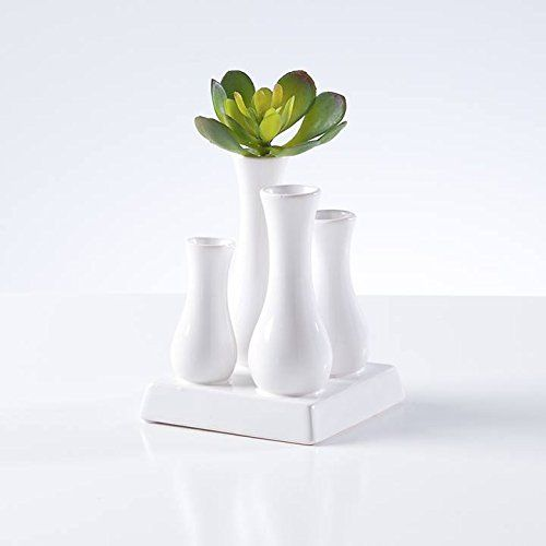 Multi Tube Urn Vase Square White Read More Reviews Of The