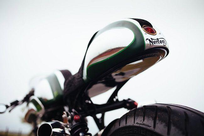 Minty Fresh Norton Commando 750 By Fuller Moto - Men's Gear