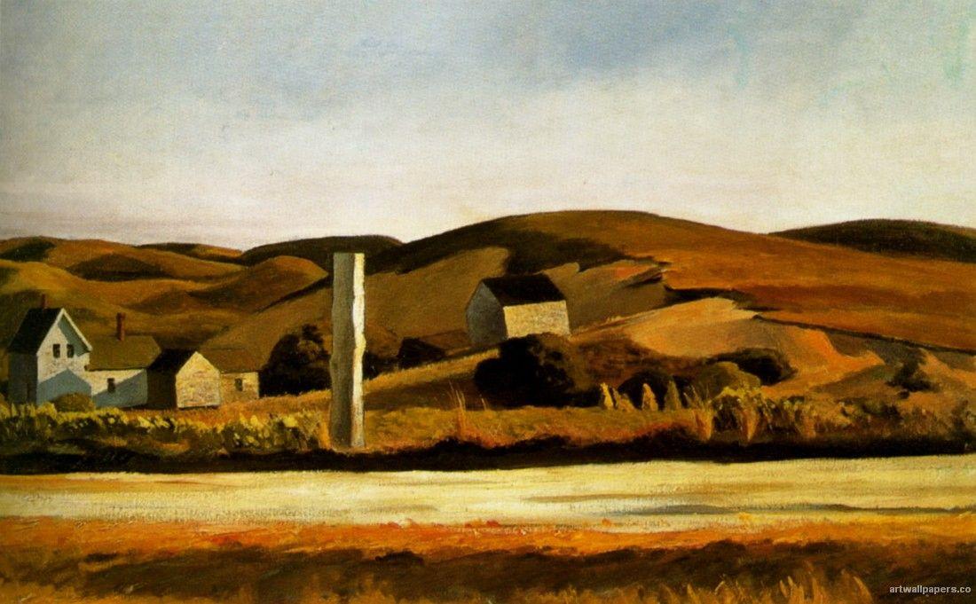 Edward Hopper - Road and Houses South Truro, 1930/33 | Hopper ...
