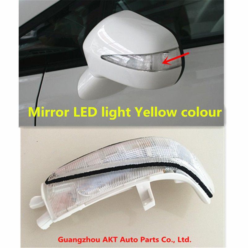 Size : 1 Pair Car Rear View Mirror Light LED Turn Signal Lights Side Mirror Indicator Lamp For 2006-2011 Honda Civic Hybrid Sedan NO LOGO FJJ-DENG