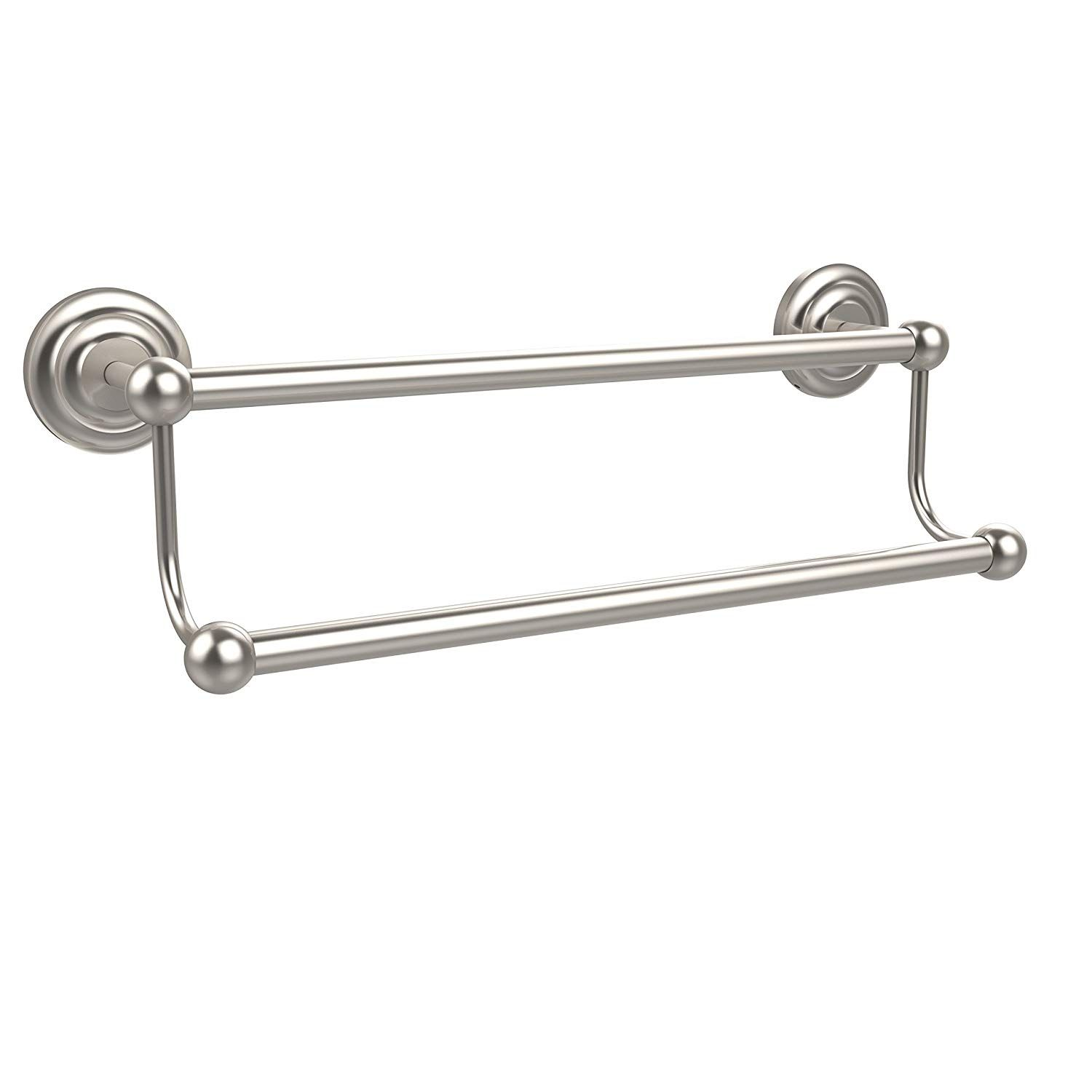 Allied Brass Pqn 72 36 Sn 36 Inch Double Towel Bar Satin Nickel Visit The Image Link More Details This Is An Affiliate Link With Images Towel Bar