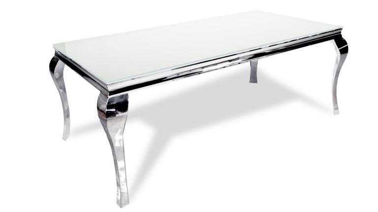 Table à diner baroque moderne rectangulaire - Betty | Déco ...