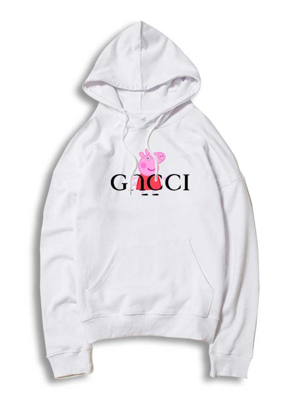 c292b8492d8f Peppa Pig Red Gucci Parody Hoodie   33.50  Tee  Hype  Outfits  Outfit   Hypebeast  fashion  shirt  Tees  Tops  Teen