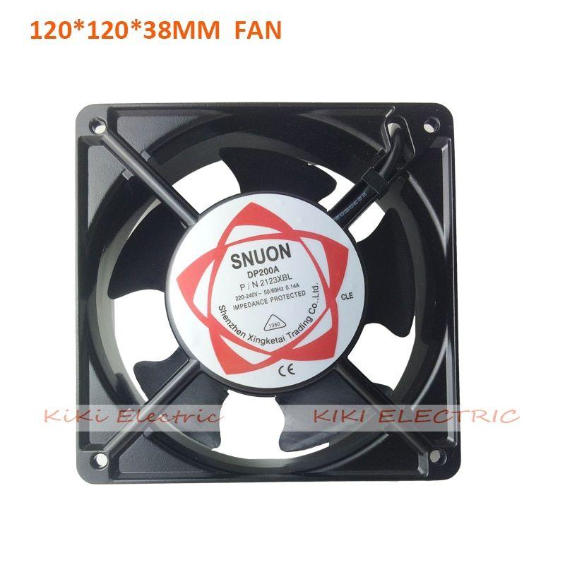Electronic 2015 Aluminum Axial Fan 120 Series Cooling Fan For