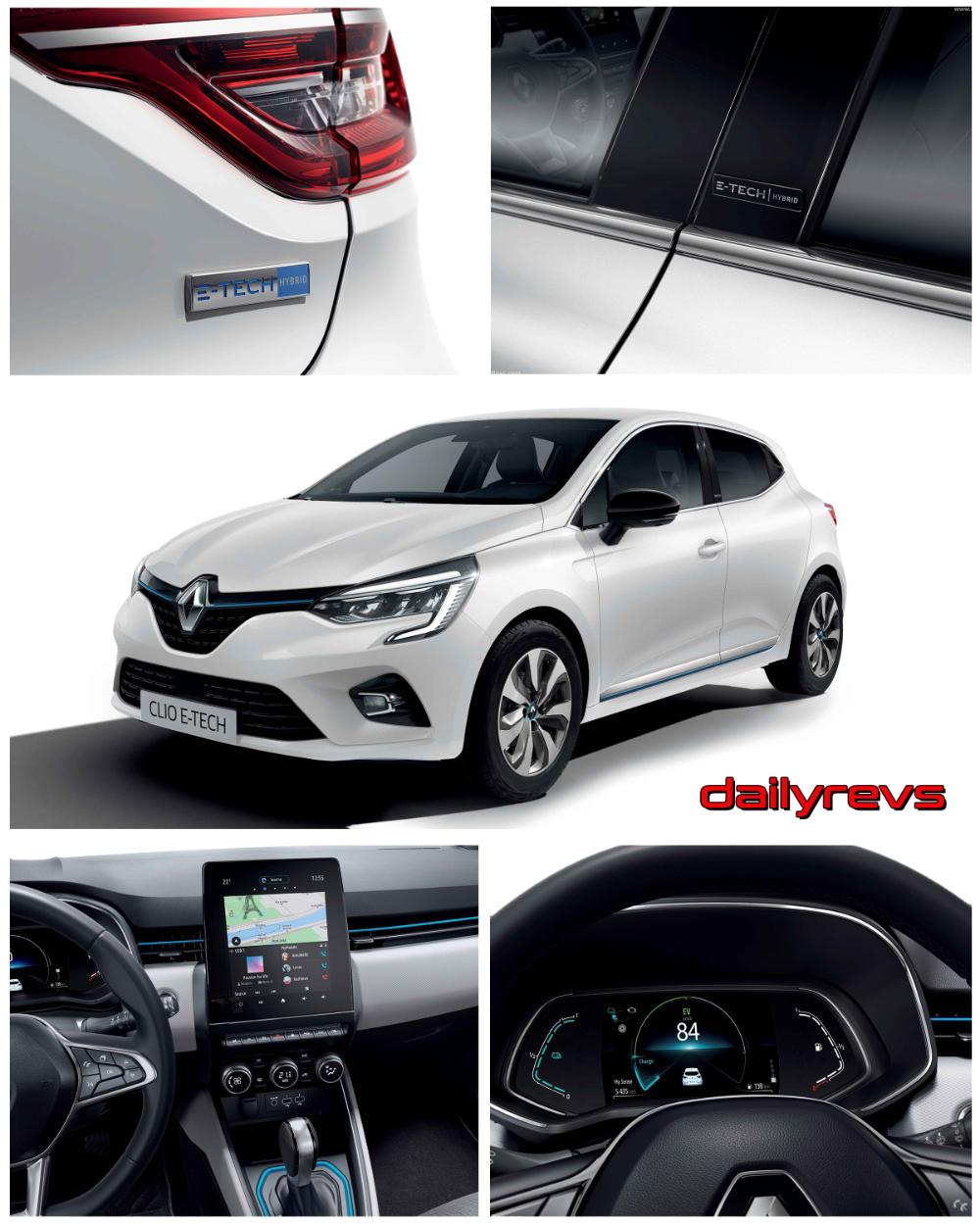2020 Renault Clio ETech HD Pictures, Videos, Specs