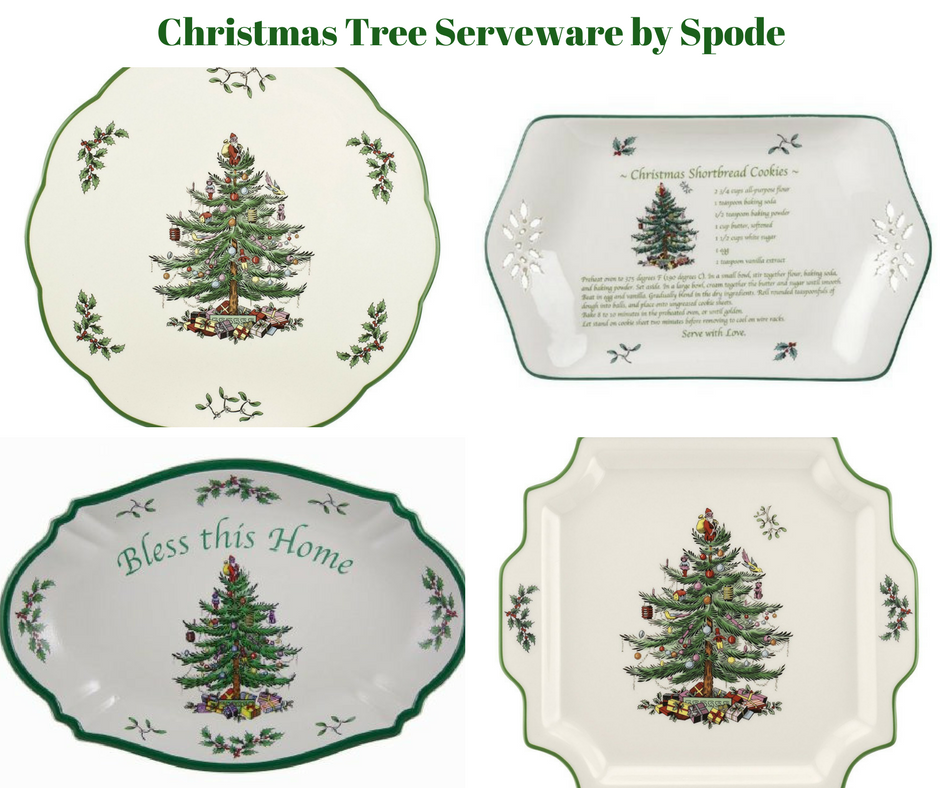 Spode Christmas Tree Candle Holder: Christmas Tree Serveware By Spode