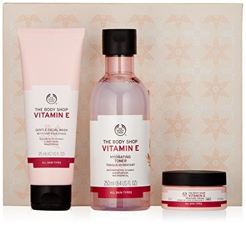 The Body Shop Vitamin E Skincare Collection Gift Set Check Out This Great Product Skincareforbody Body Shop Vitamin E The Body Shop Body Shop At Home