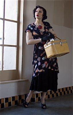 Loco-Lindo Wrap Dress and Cake Skirt