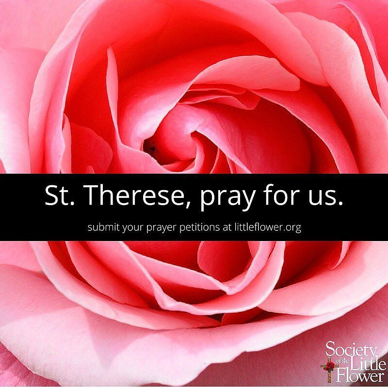 You Inspiration Hut Submit Your Inspiration: What Are Your Petitions To St. Therese? Submit Them On Our