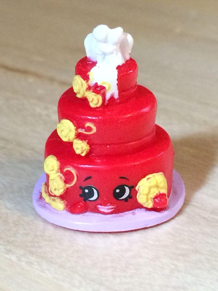 Wendy Wedding Cake Red 3 017 Shopkins Season 3 Shopkins Birthday Shopkins Season Shopkins Party