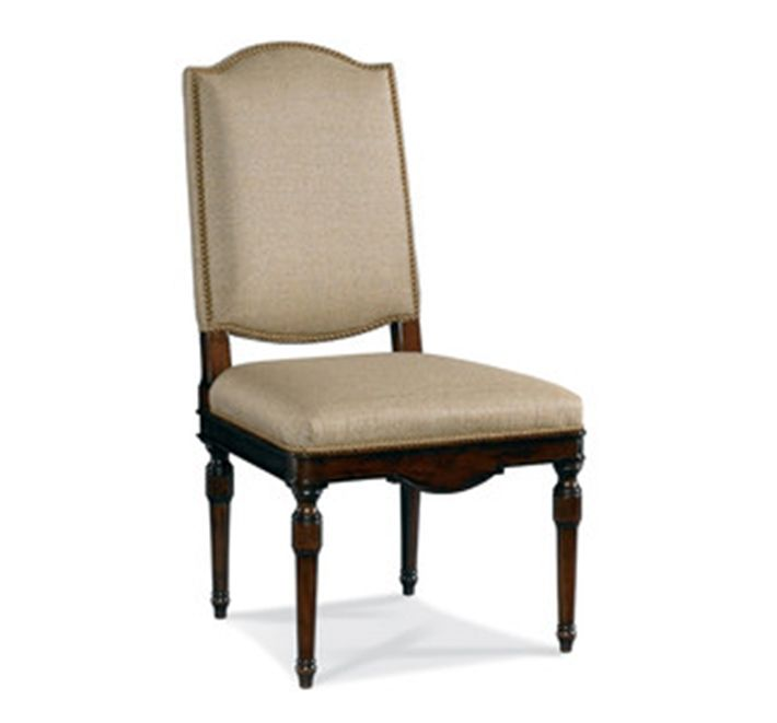 Hickory White Upholstered Side Chair 301-64   Hickory ...