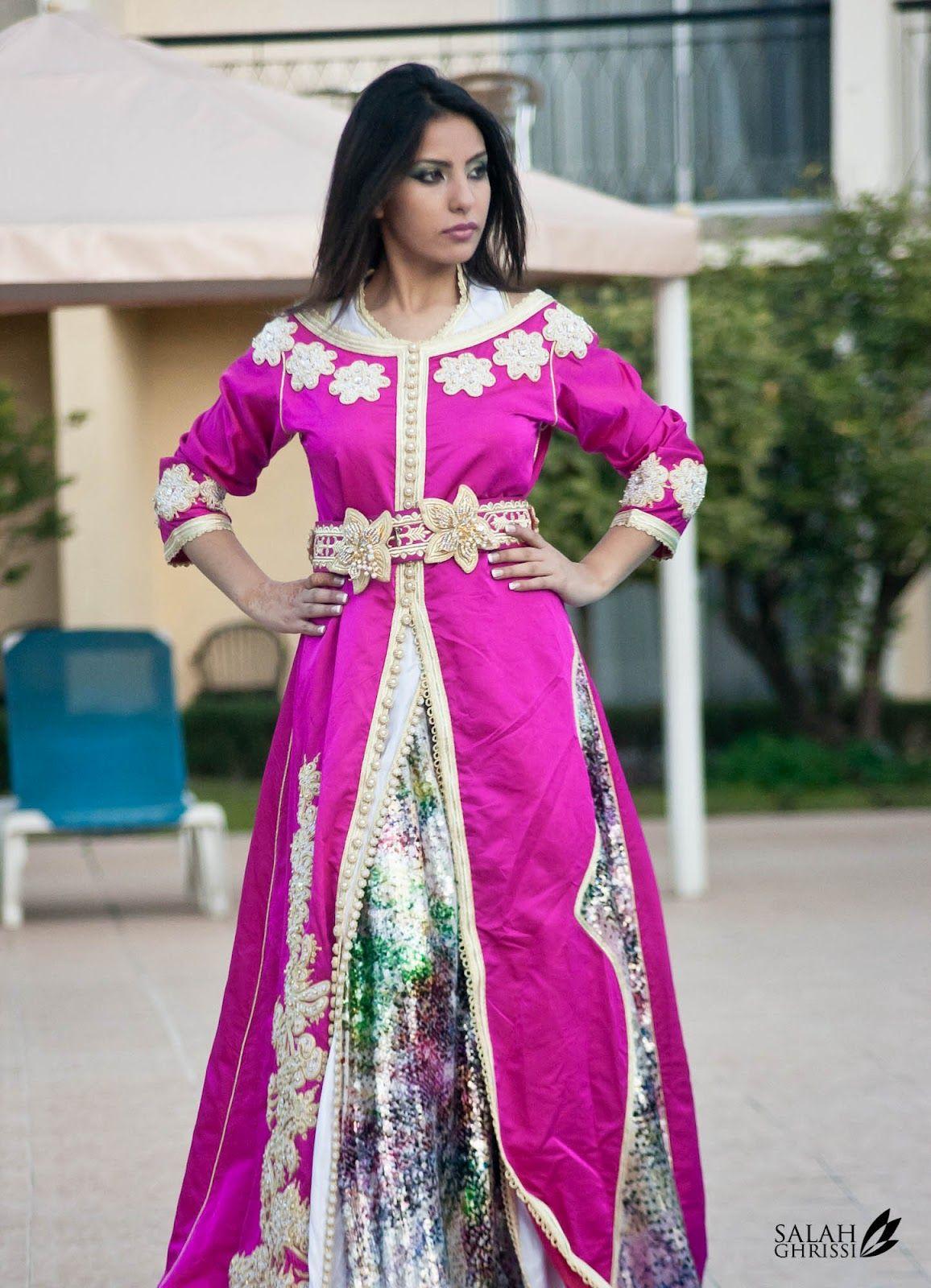 Caftan style jihane echchiekhi par fadoua aoullay fashion maroc