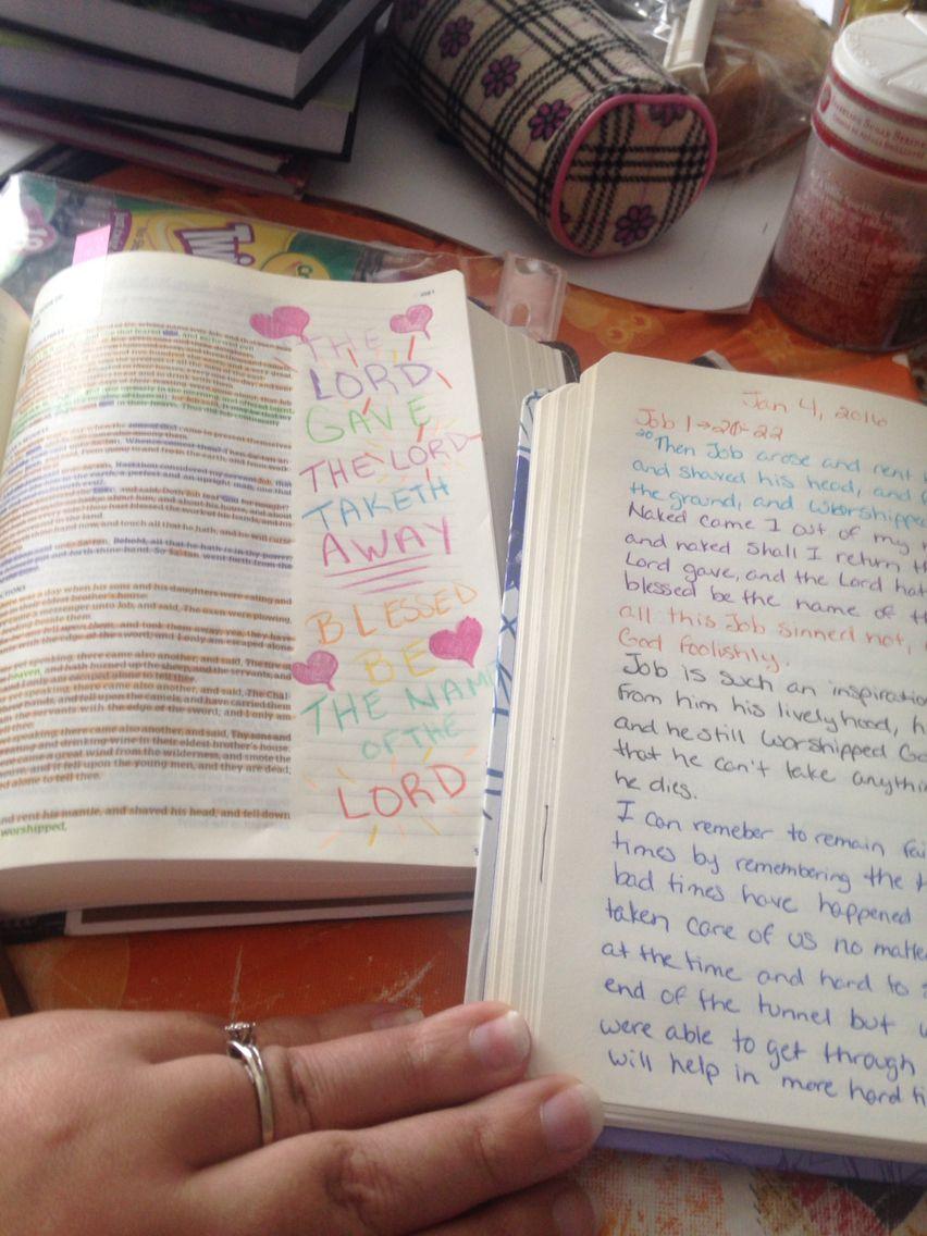 Job Chapter 1 (With images) Bible study, Book of job, Job