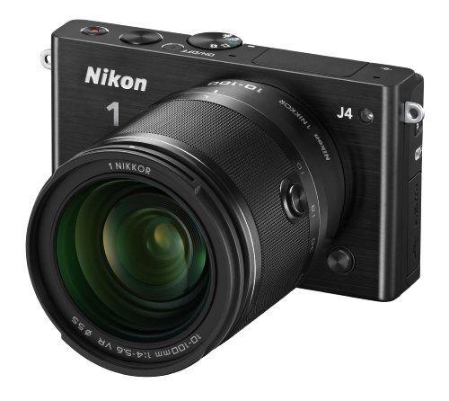 Nikon 1 J4 Digital Camera With 1 Nikkor 10 100mm F 4 0 5 6 Vr Lens Black Discontinued By Manufacturer System Camera Best Digital Camera Digital Camera