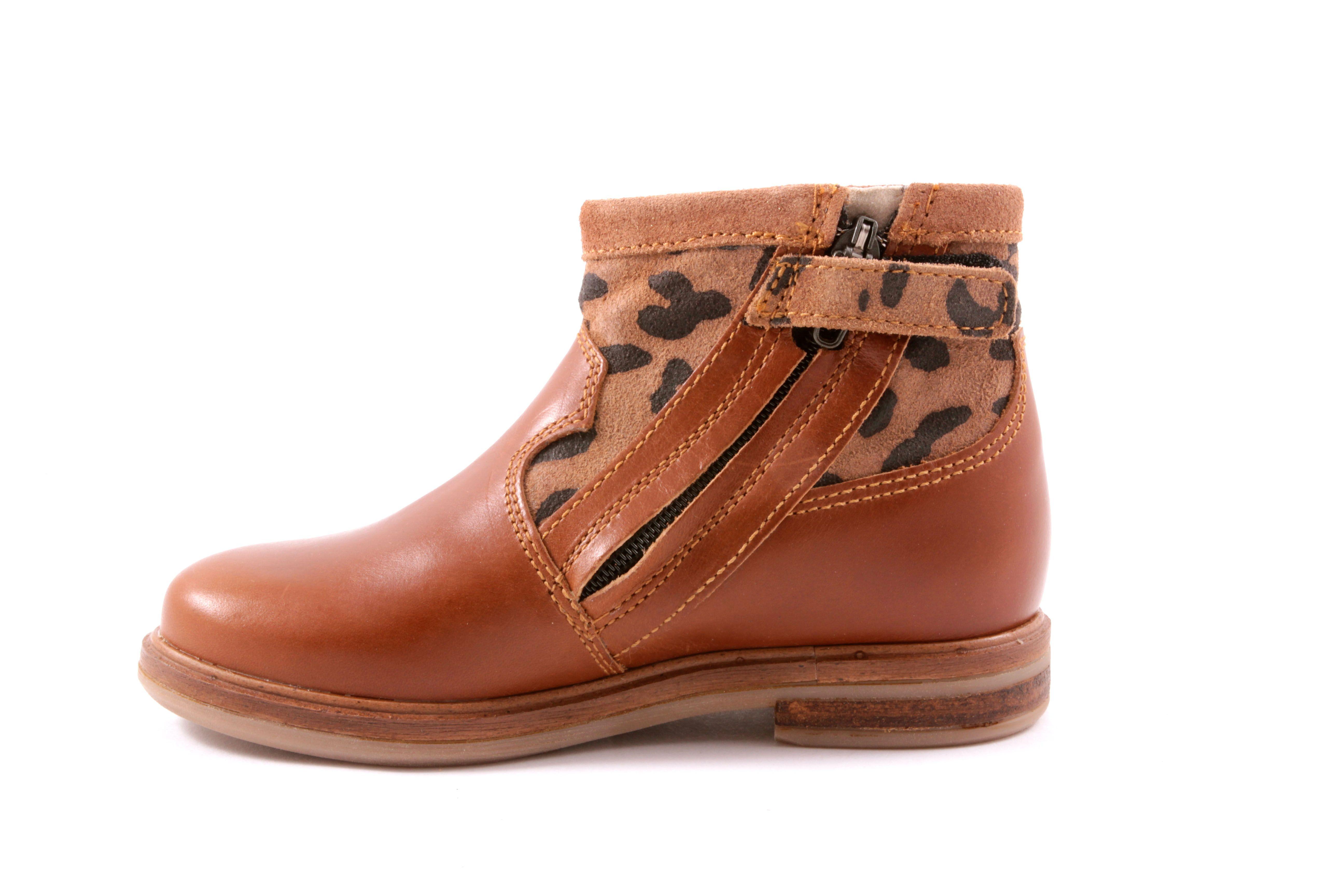 678d40195bb Kinderschoenen online - Pom d'api laars leopard cognac | Kids ...