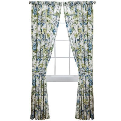 Image result for white black floral print curtains