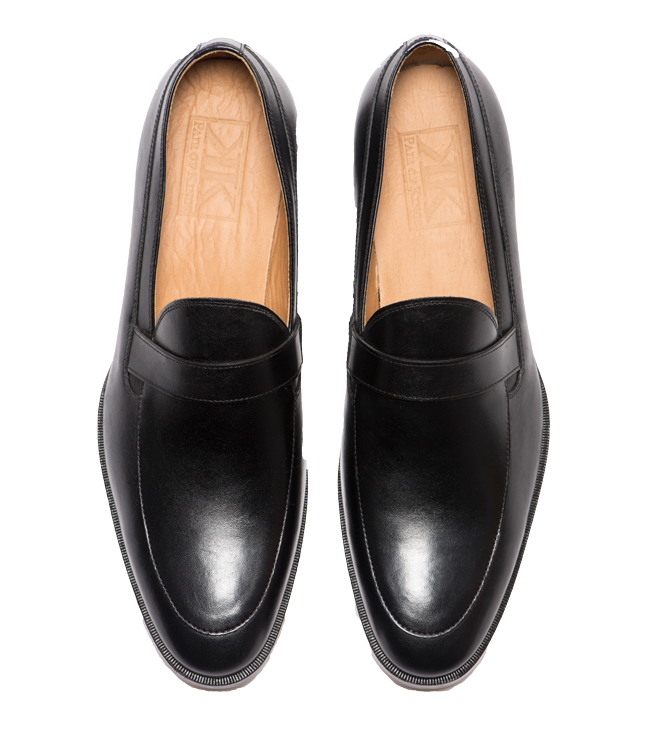 14c1345965 The Flush Men's Casual Dress Shoes - Formal Men's Black Slip On Shoes