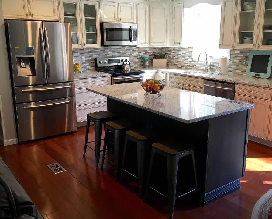 Raised Ranch Open Floor Plan Kitchen Remodel