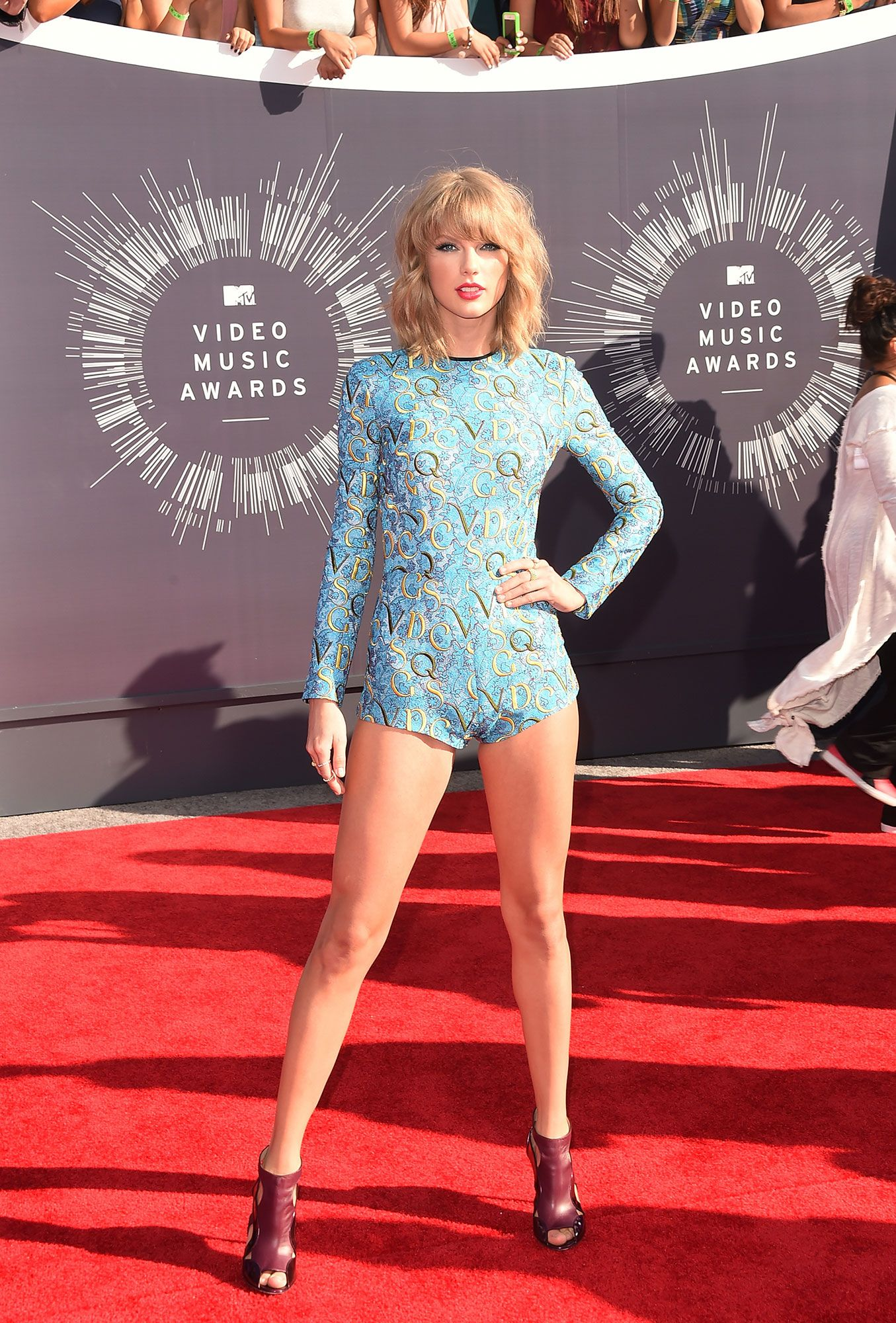 The 10 Most Memorable Red Carpet Looks of 2014 - Taylor Swift in Mary Katrantzou